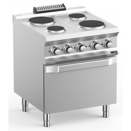 Hobart Ecomax HEPR77FE Four Plate Electric Hob With Electric Oven