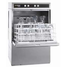 Hobart G404SW Ecomax Glasswasher with Drain Pump & Water Softener