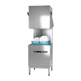 Hobart H604SW Ecomax Pass Through Dishwasher with Softener - H604S