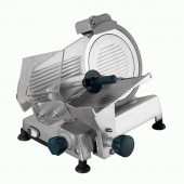 Hobart SL250-10 Belt Driven Anodised Aluminium Gravity Feed Slicer