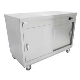 Parry HOT18 Solid Top Hot Cupboard