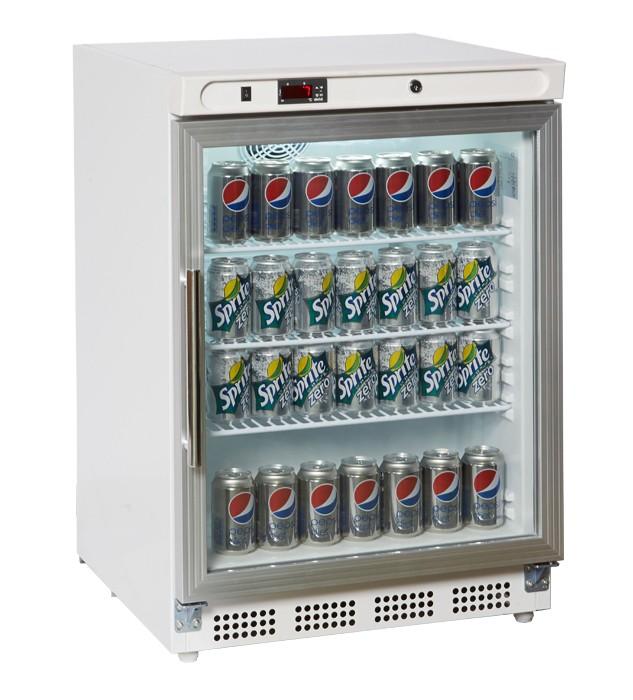 Prodis HC200G Single Glass Door Undercounter Display Refrigerator