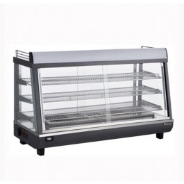 Blizzard HSS186 Heated Black & Silver Counter Top Display
