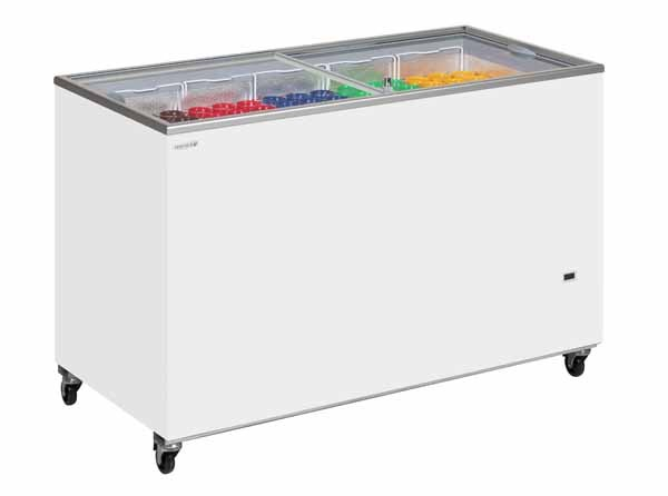 Tefcold IC500SC Glass Lid Chest Freezers
