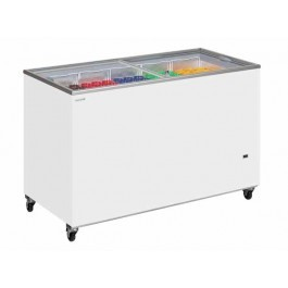 Tefcold IC300SC Glass Lid Chest Freezers