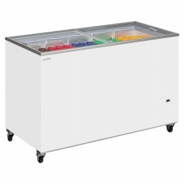 Tefcold IC100SC Glass Lid Chest Freezers