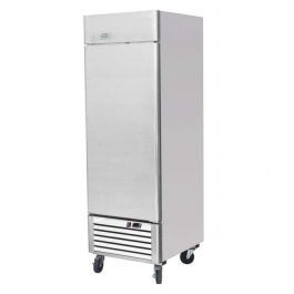Ice-A-Cool ICE8950 Upright Stainless Fridge with Bottom Mounted Compressor