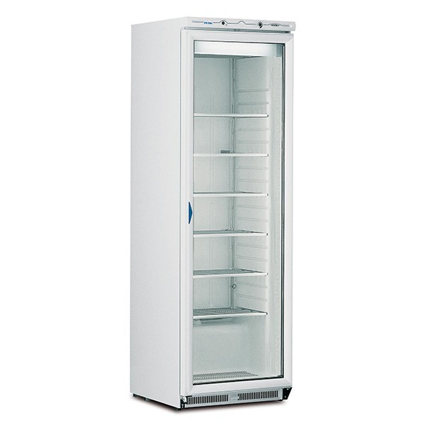Mondial Elite BEVPR40 Single Glass Door Refrigerator with 5 Shelves
