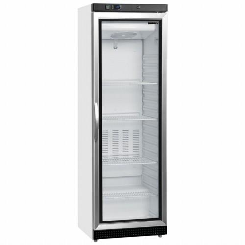 Tefcold UF400VG White Upright LED Display Freezer with Adjustable Shelves