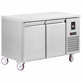 Gemm TGB7/130 Platinum Range Gastronorm Two Door Counter Freezer