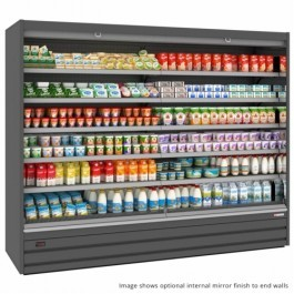 Tefcold Callisto CO187 Chilled Open Front Multideck, Base & 5 Shelves
