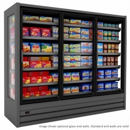 Tefcold Callisto FH187 Frozen Glass Door Multideck, Base & 5 Shelves