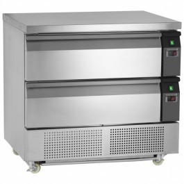 Tefcold UD2-2 Uni-Drawer 2 Range Dual Temperature Gastronorm Counter