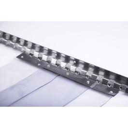 PVC Curtain Strip Curtain Door - Kit Form