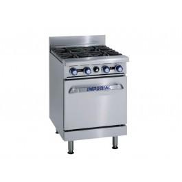 Imperial IR-4 Four Burner Gas Oven Range 2
