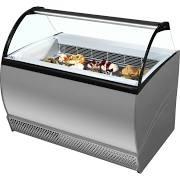 ISA Isabella 10LX Grey Scoop Ice Cream Display 4