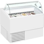 ISA Isetta 6LX White Ice Cream Display Freezer 5