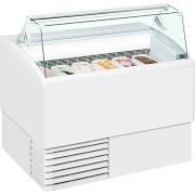 ISA Isetta 6ST White Ice Cream Display Freezer 4