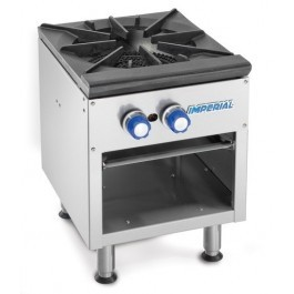 Imperial ISPA-18 Gas Stock Pot with Three Ring Burner & Dual Controls