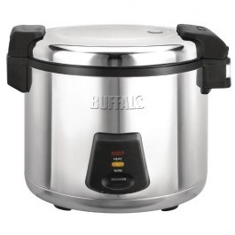 Buffalo J300 Stainless Steel Non Stick Rice Cooker - 13 Litres