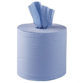 Blue Centre Feed Roll in 2ply, Length 120m - Pack of 18