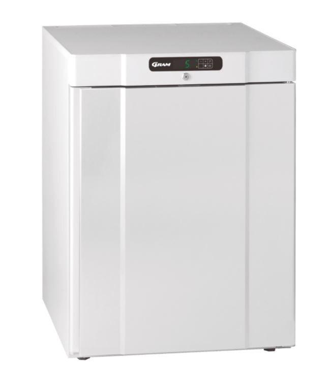 Gram Compact K 220 LG 2W Undercounter White Refrigerator - 962200461