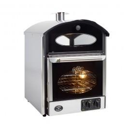 King Edward BKM-SS Stainless Steel & Black Bake King Mini Potato Oven