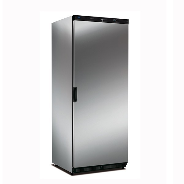Mondial Elite KICNX60LT Stainless Steel Single Upright Freezer - 580L