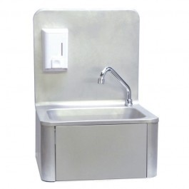 Blizzard KOB Stainless Steel Knee Operated Wash Basin & Mixer Tap
