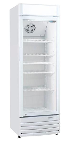 --- KOLDBOX KB350 --- Upright Single Glass Door Drinks Merchandiser