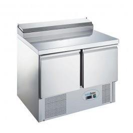Koldbox KXCC2-SAL Two Door GN 1/1 Salad Prep Counter Fridge
