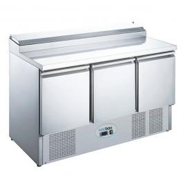 --- KOLDBOX KXCC3-SAL --- Three Door GN 1/1 Salad Prep Counter Fridge