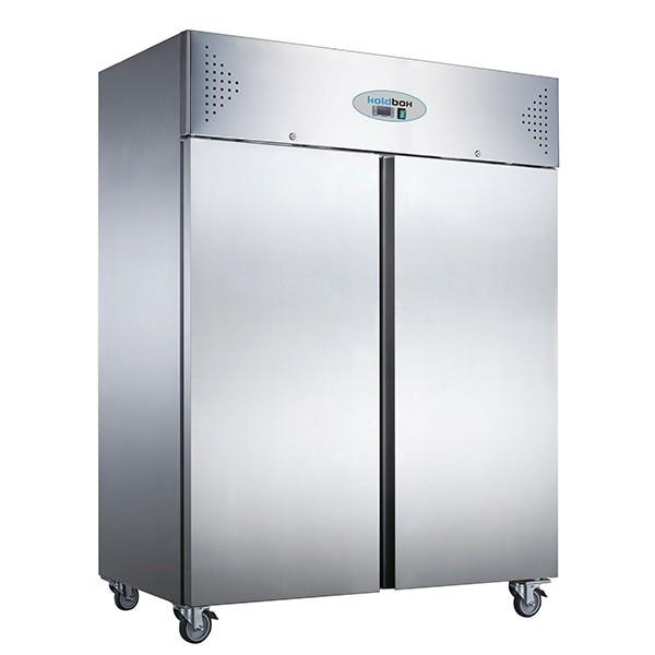 Koldbox KXF1200 Double Door Upright Stainless Steel 1200 Litre Freezer