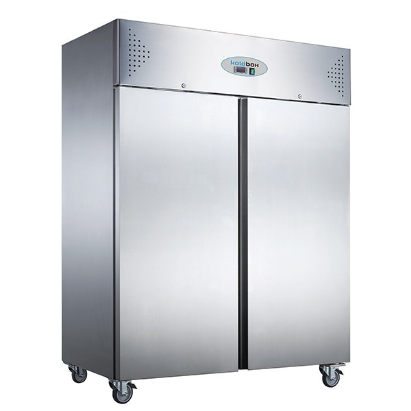 Koldbox KXR1200 Double Door Upright Stainless Steel 1200 Litre Refrigerator