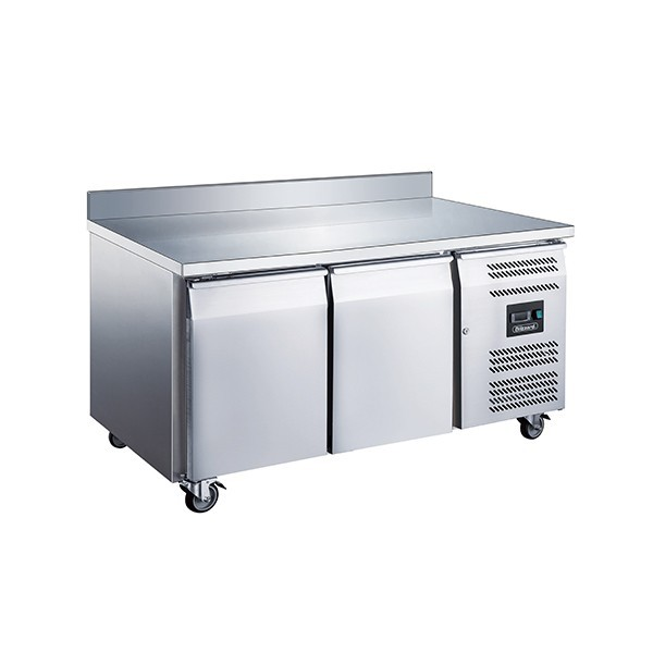 Blizzard LBC2 Stainless Steel Two Door Counter Freezer