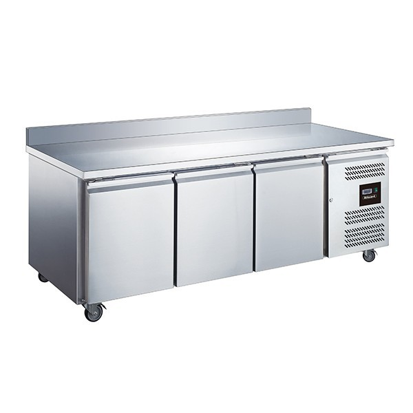 Blizzard LBC3 Stainless Steel Two Door Counter Freezer