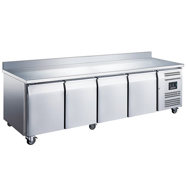 Blizzard LBC4 Four Door GN 1/1 Counter Freezer with Upstand