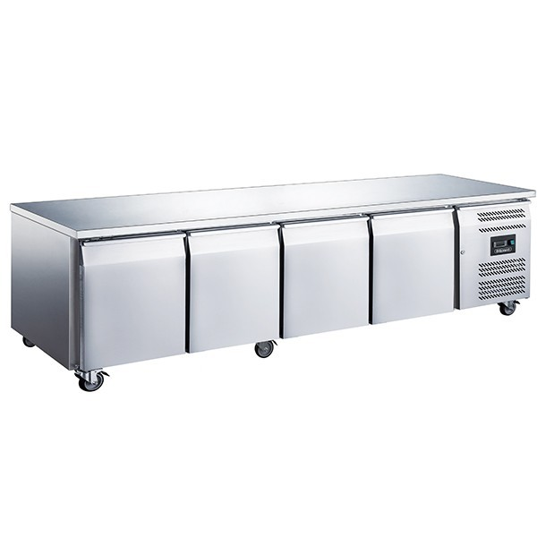 Blizzard LBC4NU Four Door GN 1/1 Counter Freezer without Upstand