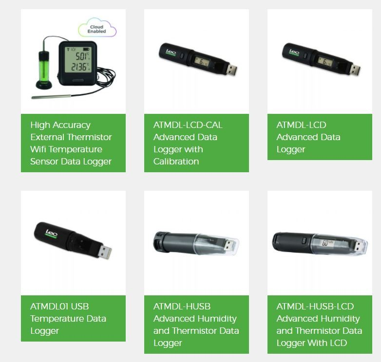 LEC Medical ATMDL Range of Data Loggers & Temperature Mapping