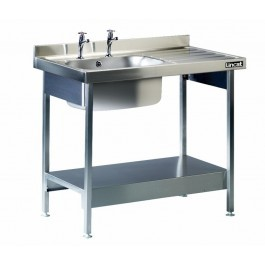 Lincat L881R/H Single Sink Unit with Right Hand Drainer
