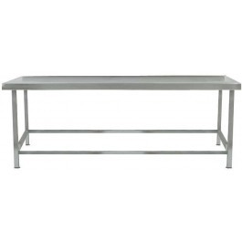 Parry LTAB05700 Low Stainless Steel Table - D700mm