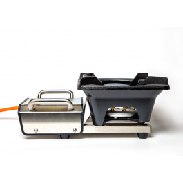 Cinders TrailerWok LP7 Portable Gas Burner Designed for Trailers & Tents