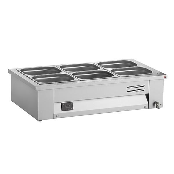 Inomak MAV67 Counter Top Heated 2 x GN1/1 Bain Marie