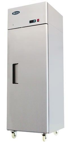 Atosa MBF8116HD Stainless Steel Top Mounted Single Solid Door GN2/1 Fridge
