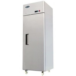 Atosa MBF8113HD Stainless Steel Top Mounted Single Solid Door GN 2/1 Freezer