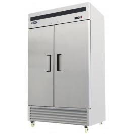 Atosa MBF8183 Stainless Steel Bottom Mounted Twin Door GN2/1 Freezer