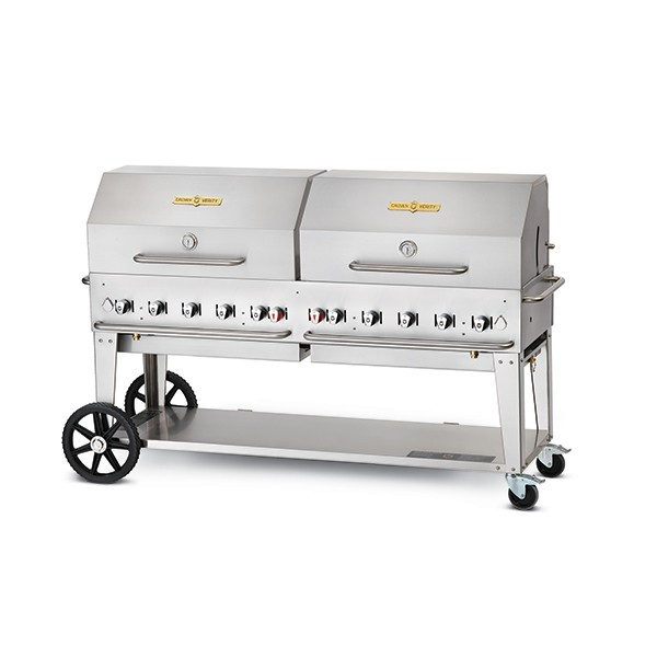 Crown Verity CVMCB72 Professional Barbeque System