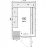 Mercatus ME2029C Walk in Chiller Room 6