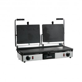 Maestrowave MEMT16053XNS Non Stick Flat Top & Bottom Double Contact Grill