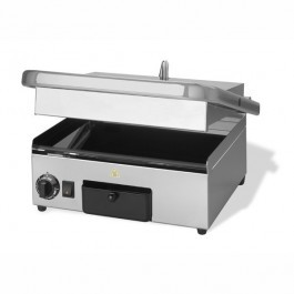 Maestrowave MEMT17010 Ceramic Flat Top & Bottom Single Contact Grill